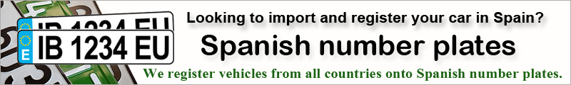Import and register your car in Spain